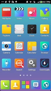 Color_Turbo launcher EX Theme - screenshot