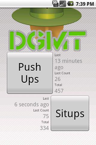 Drop and Give Me Twenty DGMT