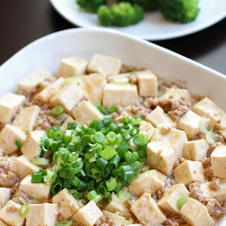 Ground Pork and Tofu Stir Fry