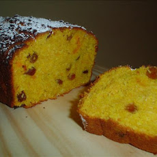 Pumpkin Cake With Sultana & Coconut