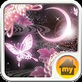 moonlight butterfly Theme APK for Bluestacks