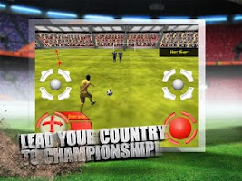 Screenshot of Football: World Cup (Soccer)