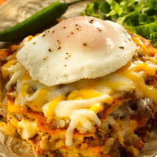 New Mexico Red Chile Enchilada Casserole