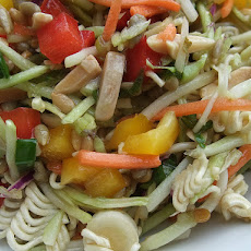 Asian Ramen Cole Slaw Salad