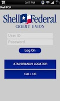 Screenshot of Shell FCU Mobile Banking