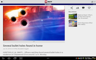 Screenshot of WAFF 48 Local News