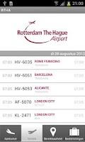 Screenshot of Rotterdam The Hague Airport