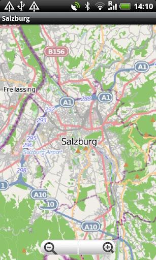 Salzburg Street Map