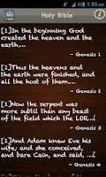 Screenshot of King James Bible (KJV) FREE!