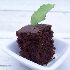 Mint Chocolate (Zucchini) Cake