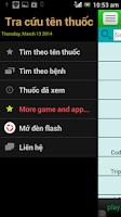Screenshot of Thuoc tay, tu thuoc