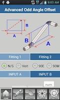 Screenshot of Pipe Fitter Calculator
