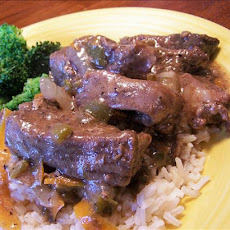 Asian Steak Strips (Crock Pot)