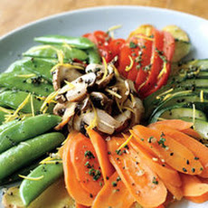 Ginger-and-Lemon-Steamed Vegetables