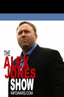 Screenshot of Alex Jones / Podcasts