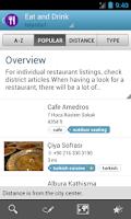 Screenshot of Istanbul Travel Guide