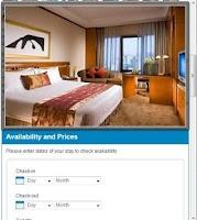 Screenshot of Beijing Hotels
