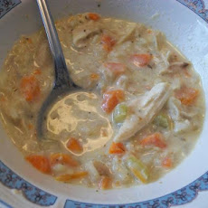 Minnesota Cream of Chicken & Wild Rice Soup