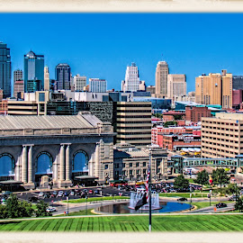kansas city by Jim Knoch - City,  Street & Park  Skylines