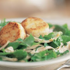 Warm Goat Cheese & Chicken Salad