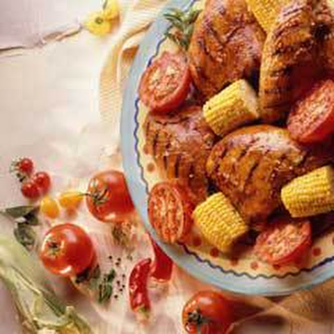 Grilled Summer Chicken & Vegetables