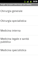 Screenshot of Esame Abilitazione Medicina