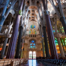 Sagrada Familia by Rudolf Moerkl - Buildings & Architecture Places of Worship
