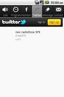 Screenshot of NEO RADIOFONO 97.9