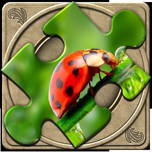 解謎必備App|FlipPix Jigsaw - Small World LOGO-綠色工廠好玩App