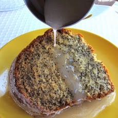 Purim Poppyseed Cake with Lemon Glaze