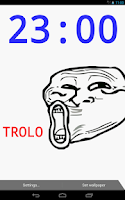 Screenshot of Troll Face Live Wallpaper