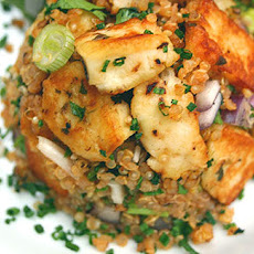 Halloumi And Quinoa Warm Salad