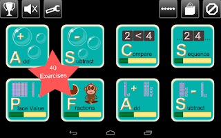 Screenshot of First Grade Kids Math Lite