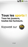 Screenshot of Kop West - tous les sports