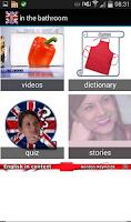 Screenshot of Learn English in context