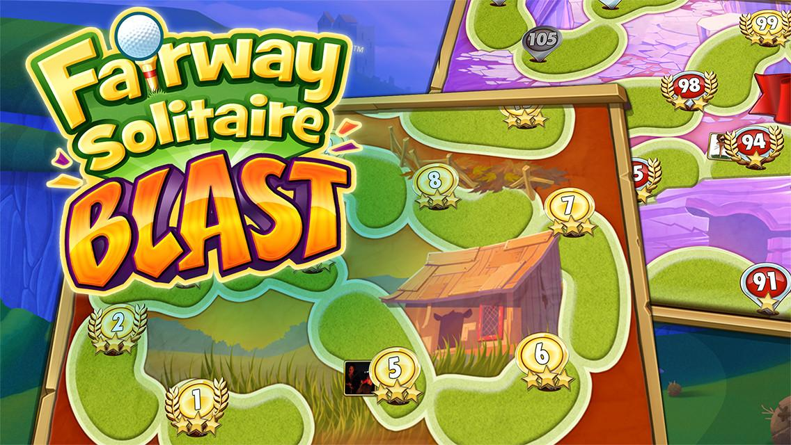 Fairway Solitaire Blast Screenshot 4