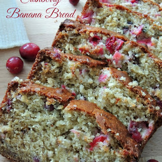 Banana Cranberry Bread Dried Cranberries Recipes