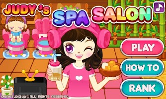 Screenshot of Judy's Spa Salon
