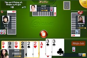 Screenshot of Ongame Phỏm (game bài)