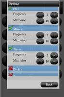 Screenshot of Math Tutor