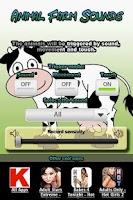 Screenshot of Animal Farm Sounds