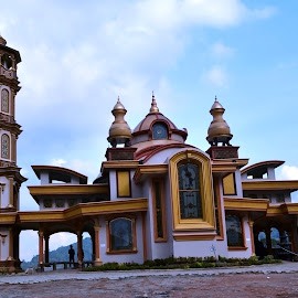 lampung mosque by Verro Nae - Buildings & Architecture Public & Historical