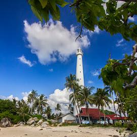 Lighthouse by Ronald Yudiono - Landscapes Travel