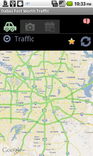 Dallas Fort Worth Traffic