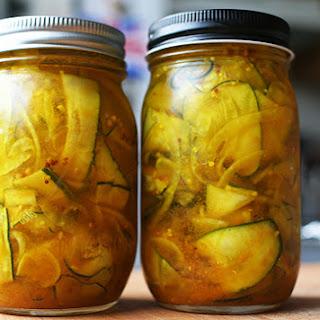 Zucchini Pickles Recipes