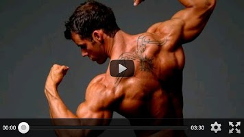 Screenshot of Muscle Building Workouts