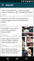 Screenshot of Stiri.RO : Stiri din Romania