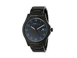 Marc by Marc Jacobs - MBM5059 - Jimmy (Black/Blue Glow Indexes) - Jewelry
