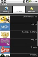 Screenshot of ZeRadio - Internet Radio