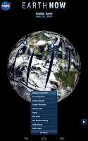 Screenshot of Earth-Now